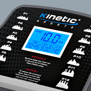 Kinectic Sports KST2700FX Laufband Pulsgurt