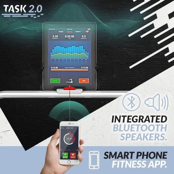 Bluefin Fitness TASK 2.0 Laufband App