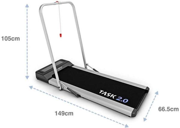 Bluefin Fitness TASK 2.0 Laufband Lagerung