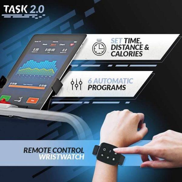 Bluefin Fitness TASK 2.0 Technik