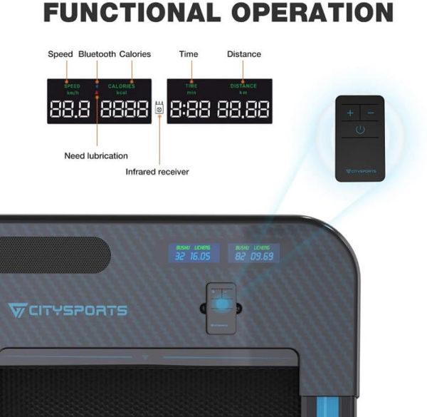Citysports WP2 Laufband Technik