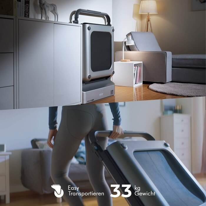 AsViva T24 Büro Laufband klappbar