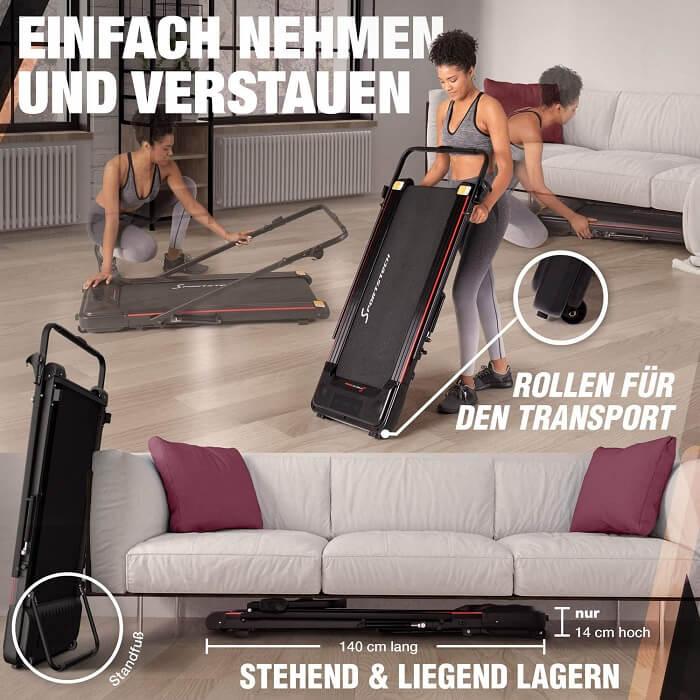 Sportstech DFT100 Lagerung