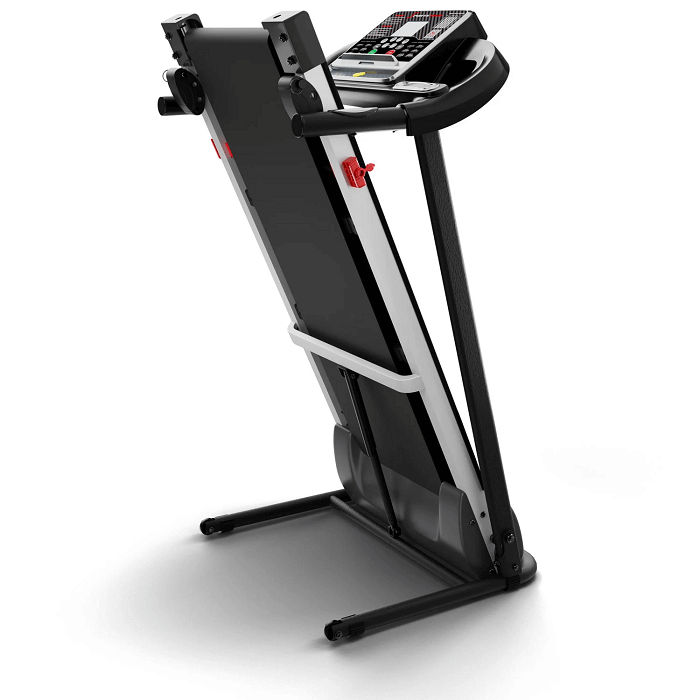 Sportstech F10 Laufband geklappt