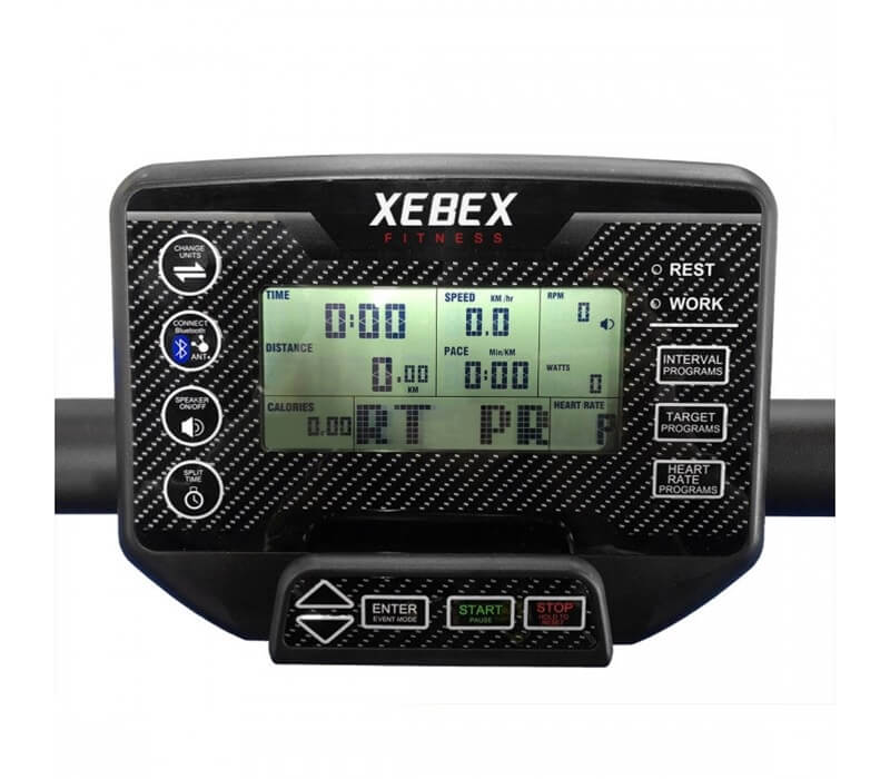 Xebex Curved Treadmill Console