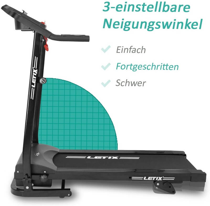 Letix Laufband Speedrunner Pro Steigung